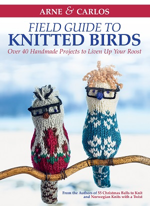 Alanna Nelson knits from Arne Carlos Bird book